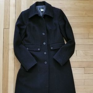 J. Crew 100% Wool Coat